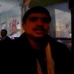 Video – Dükkanı belediye tarafından mühürlenen esnaf dükkanını yakmak istedi