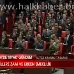 Video – Milletvekilleri kıyak emekliliğe hep bir ağızdan onay verdi