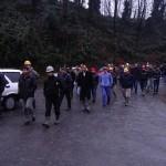 Ereğli'deki eyleme katılan madenci sayısı 500'e çıktı