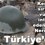 Kendisini sırtından vurarak intihar(!) eden asker…