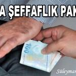 KAMUDA ŞEFFAFLIK PAKETİ…(!) – Süleyman DAĞISTANLI