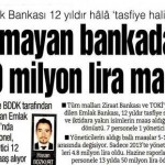 12 yıldır olmayan bankadan 50 trilyon maaş aldılar