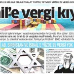 Türkiye'den korsan İsrail'e yüzde 25'lik vergi kıyağı…