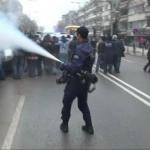 Gaziantep'te esnaf eylemine gazlı müdahale yapıldı