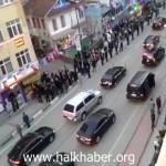 Video – Bursa'ya giden cumhurbaşkanı ve koruma ordusu…