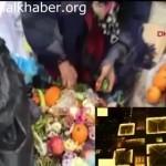 Video – Aksaray'da halk çöpe atılan sebze ve meyveleri topluyor