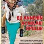 14 yaşındaki engelli çocuğunu günde 1,5 km sırtında taşıyan anne…