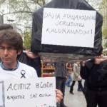 Atanamayan Öğretmenler Ankara'da Tabutlu Eylem Yaptı