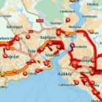 Tescillendi: Dünyanın en berbat trafiği İstanbul'da, yılda 125 saatimiz çalınıyor