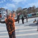 Borçları yüzünden kendini ateşe veren vatandaşa vali: Adam ol, bir daha kendini yakma!