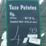 Taze Patates 4,99 TL