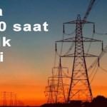Elektrik kesintileri 4 ayda 224.000 saati aştı