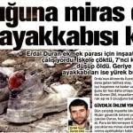 36 yaşında ölen inşaat işçisinden çocuklarına 1 çift ayakkabısı kaldı