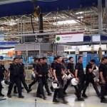 Gebze'de işçileri greve giden fabrika polis çağırdı