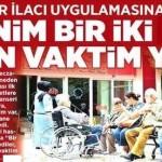 Kanser hastası vatandaşlar isyan etti