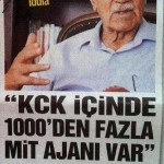 KCK'nın da PKK'nın da oluşumunda devletin parmağı vardır