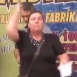 Video – Vatandaş: Böyle başbakana da cumhurbaşkanına da yazıklar olsun!