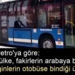 Gustave Petro: Gelişmiş ülke, fakirlerin arabaya bindiği ülke değil, zenginlerin otobüse bindiği ülkedir