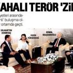 CHP ve HDP heyetleri kahkahalarla terörü değerlendirdi