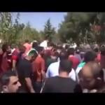 """Video – Siirtli şehit Mehmet Halil Barkın'ın cenaze töreninde """"Katil Erdoğan"""" sloganları atıldı"""