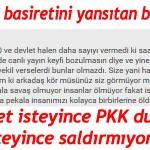 Devlet isteyince PKK duruyor, isteyince saldırmıyor mu?