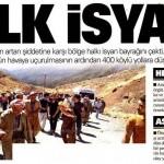 Şemdinli halkı meşrulaştırılmak istenen PKK'ya isyan etti