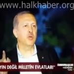 """Video – Erdoğan tepki gösteren şehit yakınlarına """"karakteri bozuk"""" dedi"""