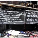 Kırşehir'de yağmalanan esnafın birlik ve beraberlik mesajı…