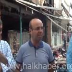 Video – İşyerleri yakılan Kırşehirli esnaflar konuştu
