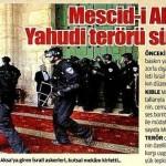 Mescid-i Aksa'da yahudi terörü sürüyor