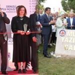 Erdoğan'ın 2012 yılında açtığı caddeyi bu kez de iki bakan açtı!