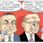 Karikatür – Oluk oluk kan akacak