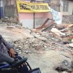 Sarıyer'de engelli vatandaşın evi tebligatsız yıkıldı