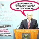Korsan İsrail ve Türkiye aynı endişeyi taşıyor