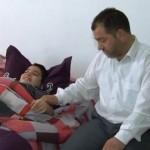 """Yüzde 88 engelli 11 yaşındaki Çetin'in """"engelli maaşı"""" kesildi"""