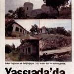 Orman ve Su işleri bakanı: Yassıada'da ağaç mağaç yok!