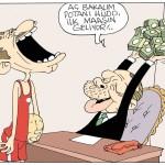Karikatür – Basketçi Hidayet Türkoğlu, 60 bin lira maaşla Erdoğan'a danışman oldu