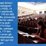 YGS'ye 2 milyon 178 bin 563 kişi katılacak