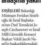 Dışişleri Bakanlığı: İsrail ile anlaşma yakın