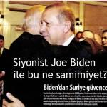 Siyonist Joe Biden ile bu ne samimiyet?