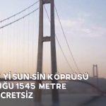Video – Dünyadaki bazı köprüler ve geçiş ücretleri…