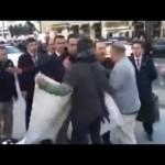 Video – ABD'de Erdoğan'ın korumalarının bağırtısı…
