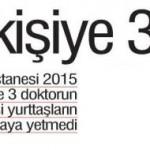 Van'ın Özalp ve Saray ilçelerindeki 90000 kişiye 3 doktor bakıyor