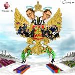 Karikatür – Azerbaycan-Ermenistan savaşına derin bakış…