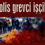 Fransa'da polis grevci işçilere saldırdı
