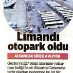 İzmir Alsancak limanı otopark oldu