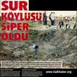 Diyarbakırlı köylüler askere siper oldu, teröristler aracı havaya uçurdu