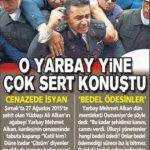 Yarbay Mehmet ALKAN yine sert konuştu