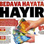 İsviçre halkı çalışmadan maaş verilmesi teklifine HAYIR dedi