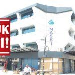 Yenilenen MASKİ Genel Müdürlüğü Akpınar Hizmet binası çürük çıktı